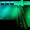 大山ダム(ライトアップ)
