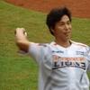 2016年7月8日 秋山幸二始球式@台南