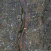 相模川の河川敷コースを開拓