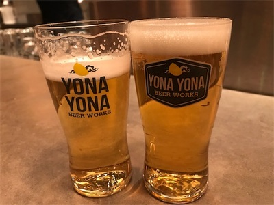 よなよなビールワークスでクラフトビール〜ナイスなネーミングのビール達〜