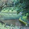 村山公園の池(熊本県人吉)