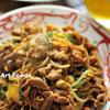 豆モヤシと豚肩ロース肉のキムチ炒め
