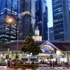 """シンガポールまち歩き#230(ビジネス街のホーカーズ""""ラオパサ・フェスティバル・マーケット""""19時過ぎ)"""