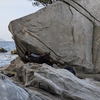 自然の巨石をボルダリング『大入ボルダー』