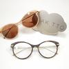 メガネでもサングラスでも。