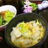 出汁殻昆布で時短!白菜の浅漬け風サラダ