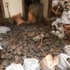 瓦礫をリサイクル