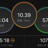 ジョギング10.39km・【第10週木曜for神戸】神戸マラソン3日前!調整ラン10kmの巻