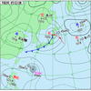 低気圧と前線の影響 - 各地で雨、強風も