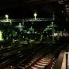 ★夜の緑の駅