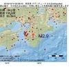 2016年10月14日 02時06分 奈良県でM2.9の地震