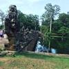 #アンコールワット個人ツアー(394) #アンコールワットのおすすめ現地ツアーアンコールトムとバイヨン寺院です。