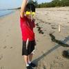 2020年5月末の津の海は、シロギスがたくさん釣れています!