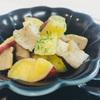 ホットクックレシピ お惣菜風サツマイモとキノコ蒸し