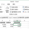 Excelで深夜勤務の時間の計算はどうするの?