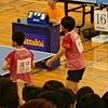 ひかる選手・みさき選手(白子高校)の女子ダブルス3回戦。卓球 インターハイ 鹿児島