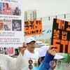 「韓国モラン市場」で犬肉の賛否をめぐって衝突
