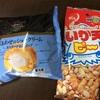 糖質約11gのシュークリームと糖質約16gのイカ天ピー