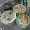 幸運な病のレシピ( 779 )夜:餃子祭り(羽根つき、羽根なし)、汁、ベロベロになった。
