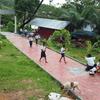 カンボジア人大学生5名を連れて出張へ。彼らのパワフルさには敵わない…。