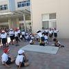 4・5・6年生:体力テスト② 立ち幅跳びと上体起こし、反復横跳び