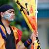 うらじゃ:うらじゃ連源喜-GENKI-、5日午後0時37分ころ、野田屋町公園演舞場