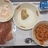 今日の給食 5・6年生会食の様子