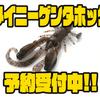 【イマカツ】ハイアピール系水平フォーリングクローのダウンサイズモデル「タイニーゲンタホッグ」通販予約受付中!