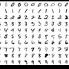 ニューラルネットワークでの手書き画像分類の処理イメージ