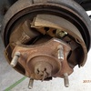 ブレーキ対策 夕方まで Brake repair