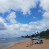 ハレイワのビーチです!