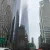 雨のマンハッタンを車移動