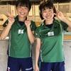 森本選手(専修大)・白神選手(白子高)組が、全日本卓球選手権出場権獲得!