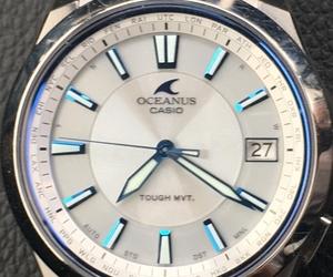 カシオのVIP対応修理サービスに感激。オシアナスブルーが輝く腕時計が手放せない