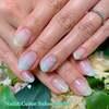 指先から春を感じます♡ミントグリーン&ブルーの爽やかグラデーションネイル☆ジェル