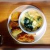 鶏唐揚げ、カレーコロッケ、鱈とほうれん草グラタン