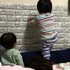 乳首を確かめる息子、脱走が止まらない娘 - 年子育児日記(2歳4ヶ月,0歳10ヶ月)