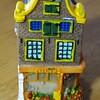 陶器のオランダの家
