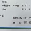【速報】ちくせいマラソン結果