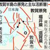日本中の原発52基はすべて活断層のそば、あるいは真上にある