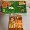 輸入菓子:イオンリテール:CasinoBioハニーワッフル/モノプリピーカンナッツチョコ