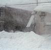 数年ぶりの強烈な猛吹雪