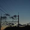 2019年1月12日までに撮影したデジカメ写真。初「日の入り」と日没の連続写真を撮っています