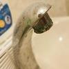 トイレの蛇口にこびりついた金属カビを退治する