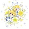 雪ミクの花鉢コラボ第二弾で、「鏡音ペチュ」「雪ミクペチュ」が北海道内の花屋で販売予定