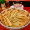 2013年、名古屋市で食べたメンマいっぱいのラーメン