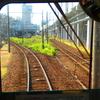 富山駅に到着^^…2015年富山地方鉄道(地鉄)本線