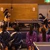 ゆな選手と、ゆり選手の女子2年の部・決勝戦!鈴亀地区中学校協会杯卓球大会。
