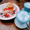 初めての海外旅行タイ・バンコクでインスタ映えするカフェ【ブルーホエール マハラート】へ行ってきました!