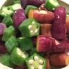 緑野菜はデトックス、赤野菜は血をつくる
